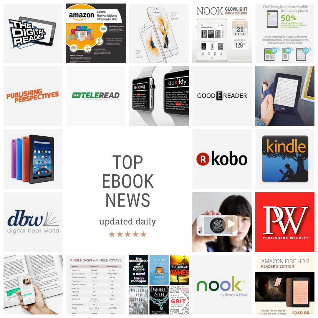 Top ebook news - updated daily
