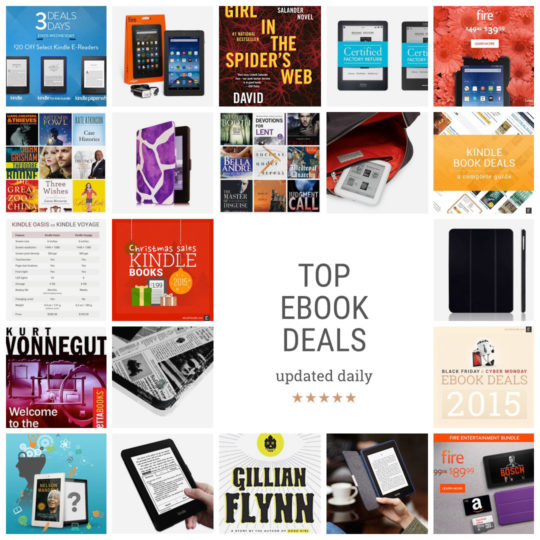 Top ebook deals - updated daily