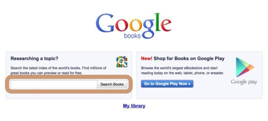 Google Books - how to enter to read books online