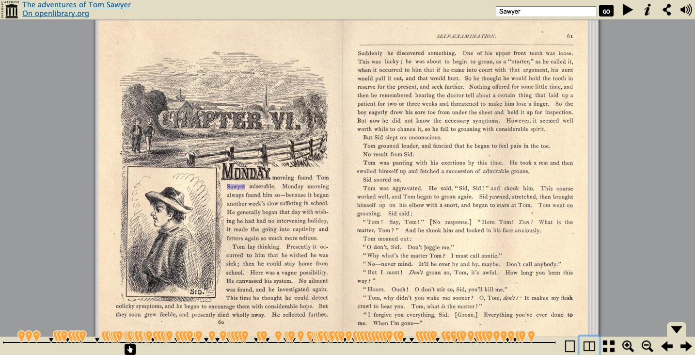Read books online - search inside the book on Internet Archive
