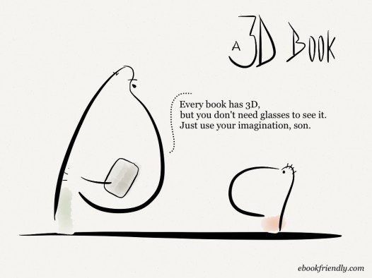 A 3D Book [Cartoon] | Ebook Friendly
