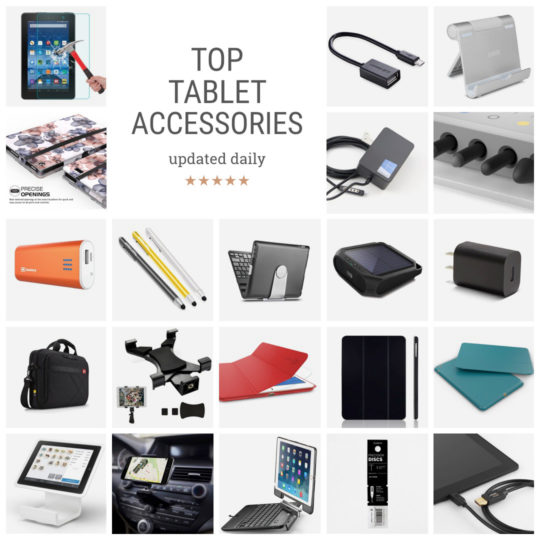 Top tablet accessories - updated daily
