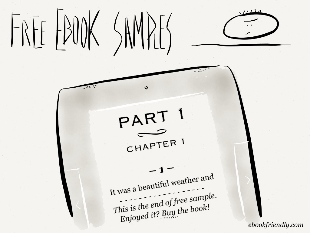 Free ebook samples (cartoon) | Ebook Friendly