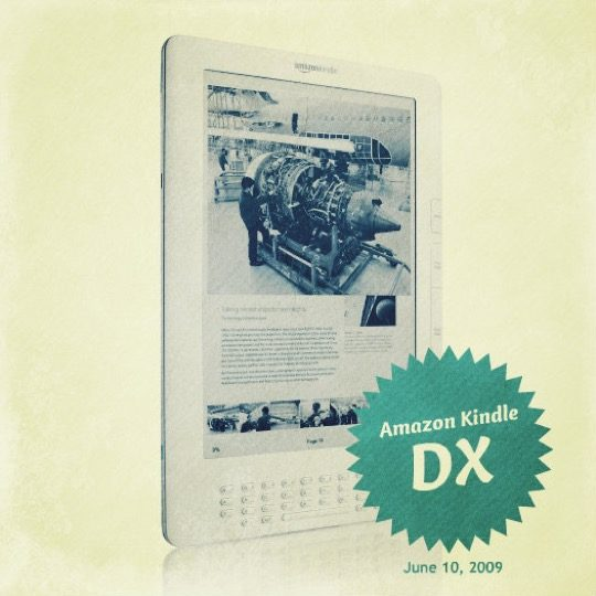 Ebook nostalgy: retro images of early Kindle devices