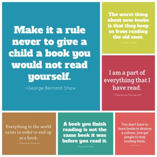 Best book quotes that you can share as pics in social media