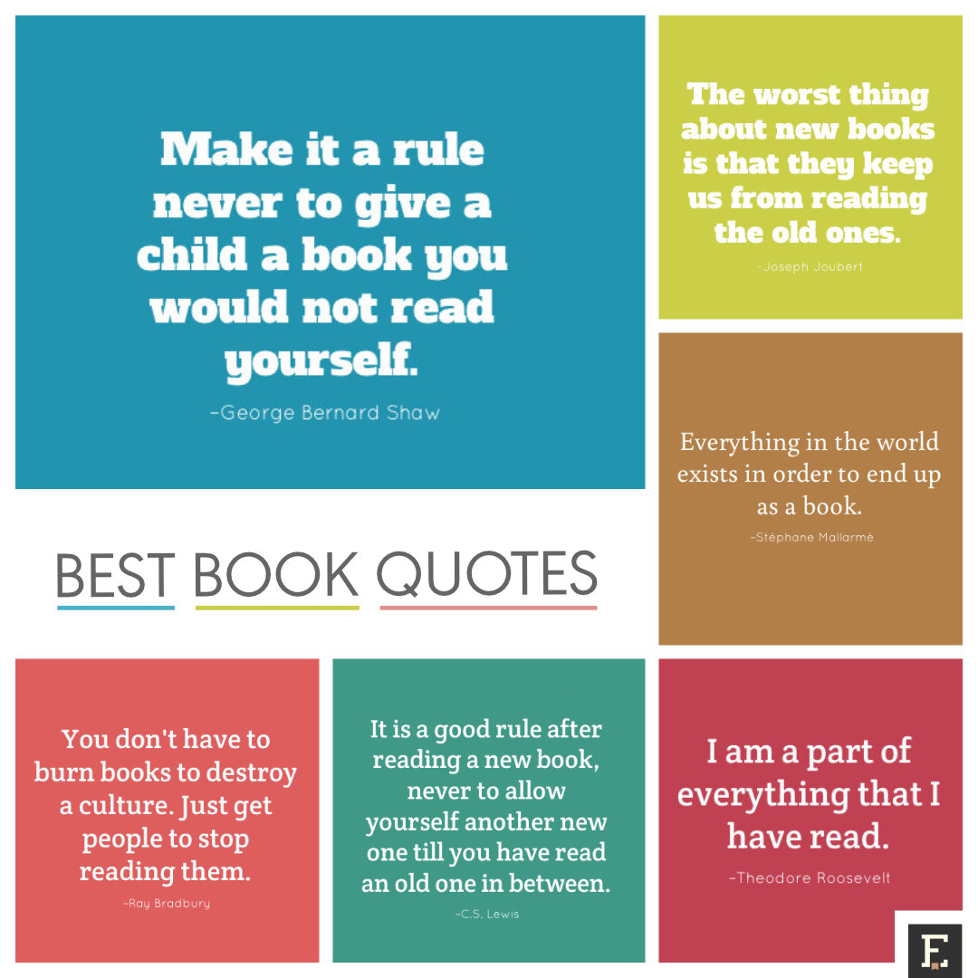 Famous Quotes About Sharing: 20 Quotes About Books That You Can Share As Images