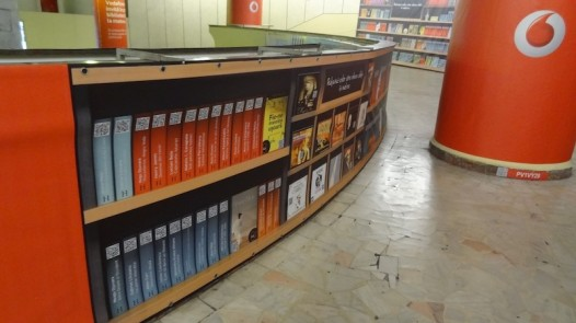 Digital library in Bucharest underground 5