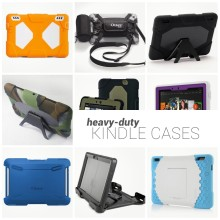 Heavy-duty Kindle covers