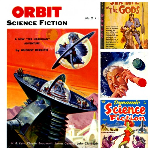 Vintage sci-fi stories that are available as free ebooks from Project Gutenberg