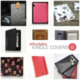 27 affordable Kindle covers priced $15 or less