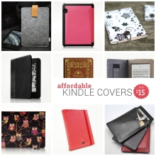 Affordable Kindle covers