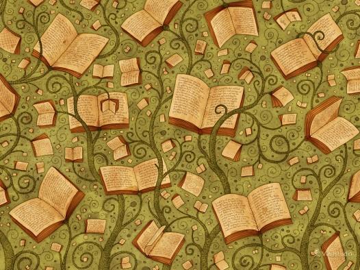 Book iPad wallpaper - Books