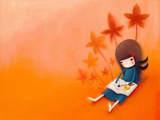 Book iPad wallpaper - Echi Book