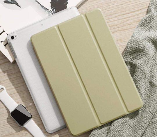 Pastel color iPad mini 5 smart case alternative