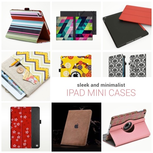 Sleek iPad Mini cases and sleeves
