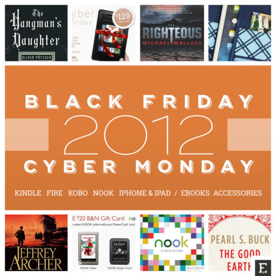 The best 2012 Black Friday and Cyber Monday deals