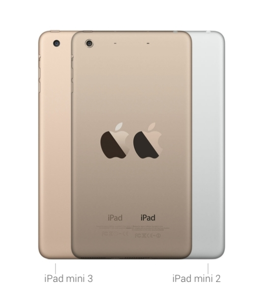 iPad mini 3 versus iPad mini 2
