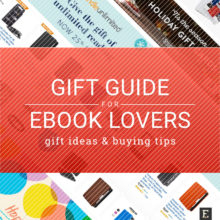 Gift guide for ebook lovers