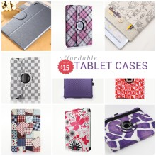 Affordable tablet cases, covers, and sleeves - prices up to $15