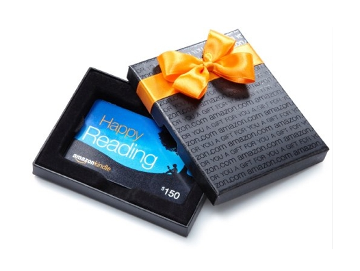 Amazon gift box Kindle design