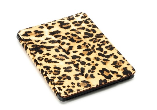 August Lion Leopard Smart Case Cover for Amazon Kindle HDX