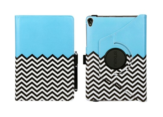 E LV Google Nexus 9 Case Cover