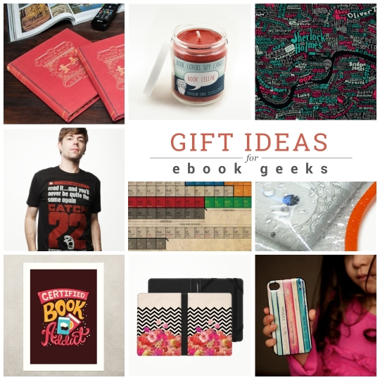 Gifts ideas for ebook geeks