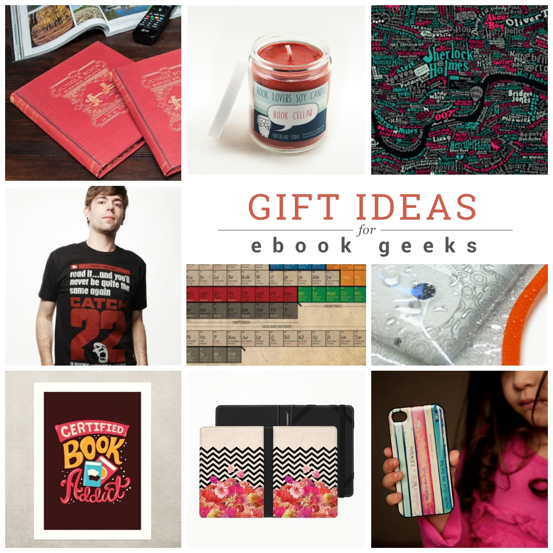 9 Gift Ideas For Ebook Lovers