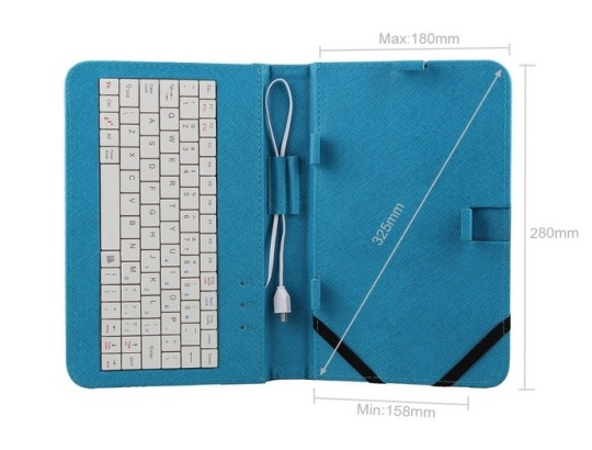 Kamor Universal Tablet Case with Keyboard