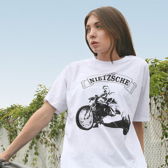 Nietzsche Custom Designed T-Shirt