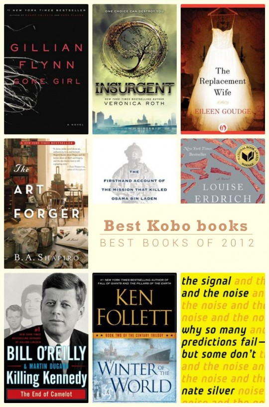 Best Kobo books of 2012