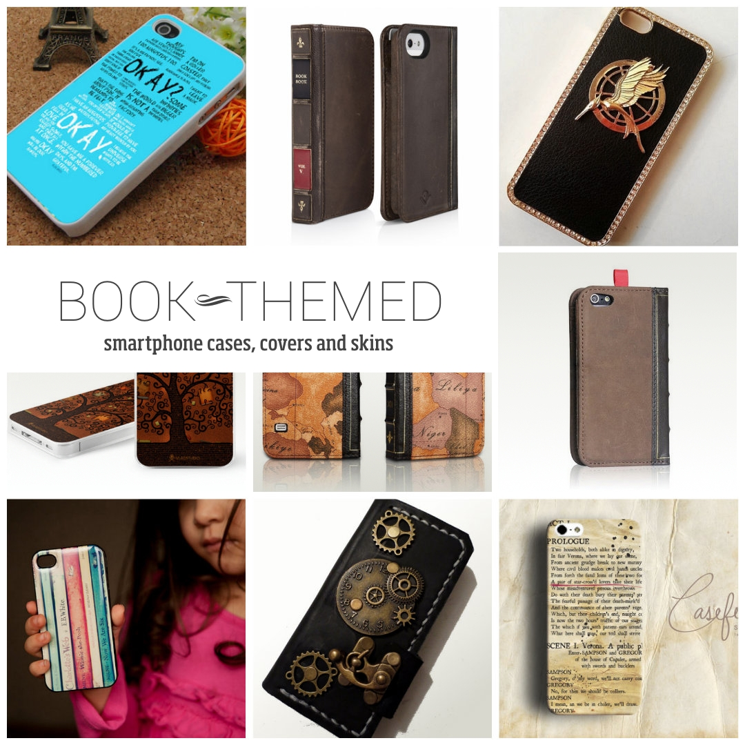 165 Best Wallpapers Phone Cases Images On Pinterest: 20 Book-themed Phone Cases, Covers And Skins