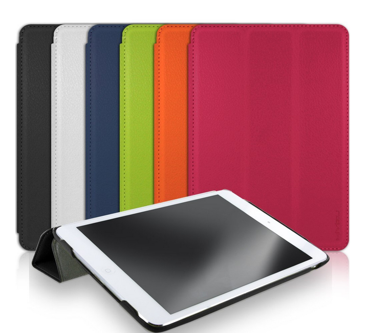 Mivizu Sleek iPad Mini Case with Screen Protector with Sleep-Wake Function