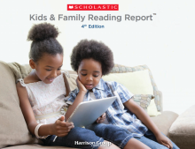 Kids and Family Reading Report 4th Edition by Scholastic Inc