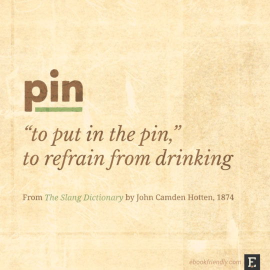 Popular contemporary terms as seen in the 19th century - pin