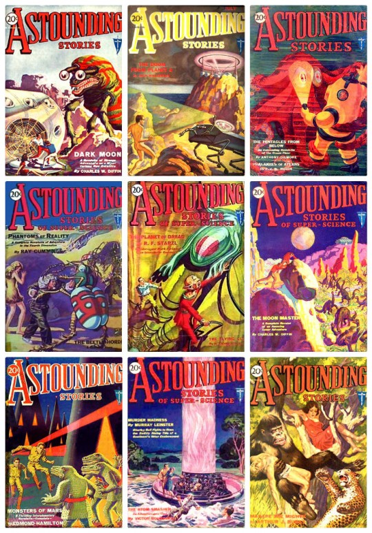 Astounding Stories of Super-Science - download them from Project Gutenberg