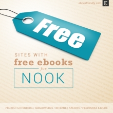 Free ebooks for Nook