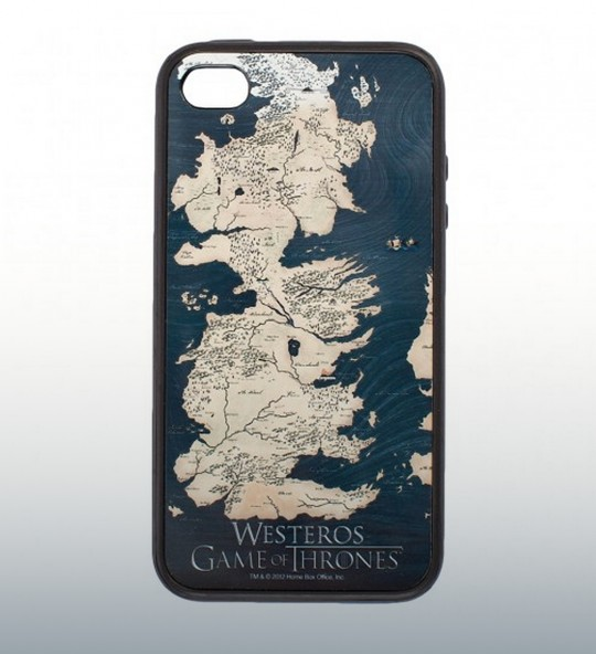 Game of Thrones Westeros Map iPhone Case
