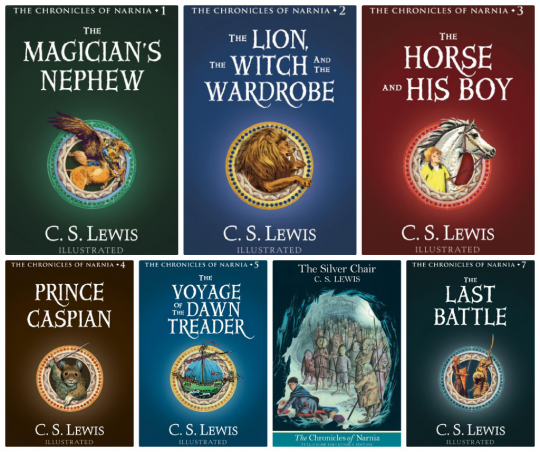 Kindle Daily Deal - The Chronicles of Narnia by CS Lewis - $1.99 each
