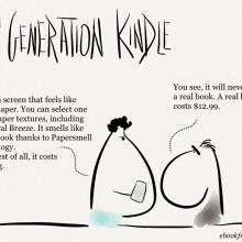 10th generation Kindle [cartoon] | Ebook Friendly
