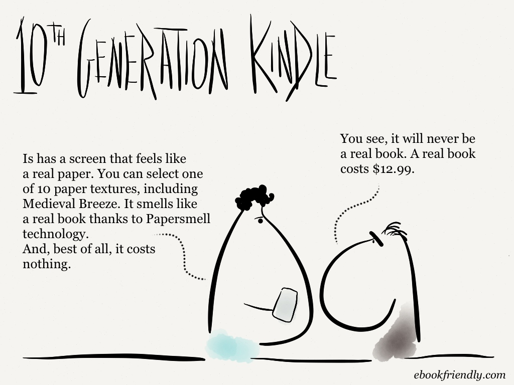 10th generation Kindle [cartoon] | Ebook Friendly