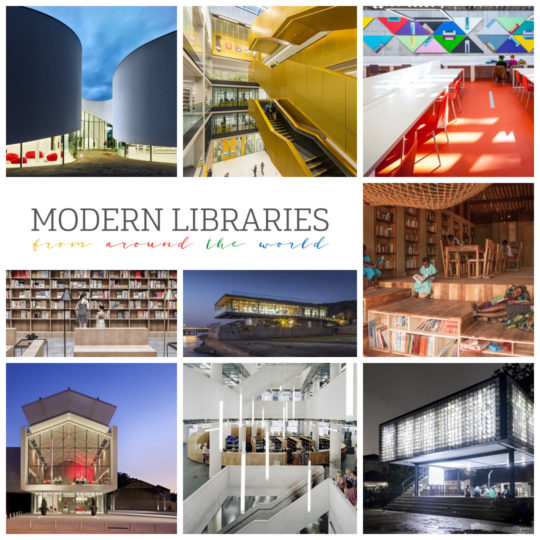 Best contemporary libraries from around the world