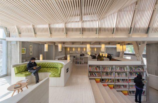 Public Library Of Constitucin Chile
