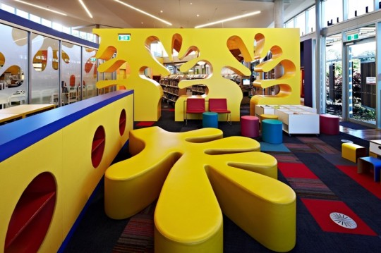 Inside Cooroy Library, Australia