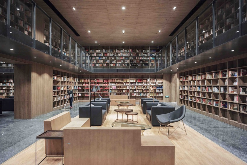 Exhibition Pavilion and Library Guiyang - inside