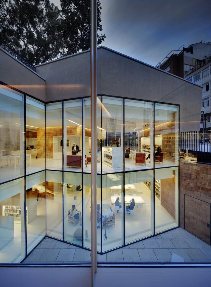 Joan Maragall Library Barcelona - inside