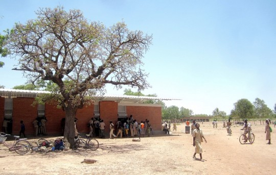 Katiou Library in Burkina Faso is an example of a well-designed and inexpensive building