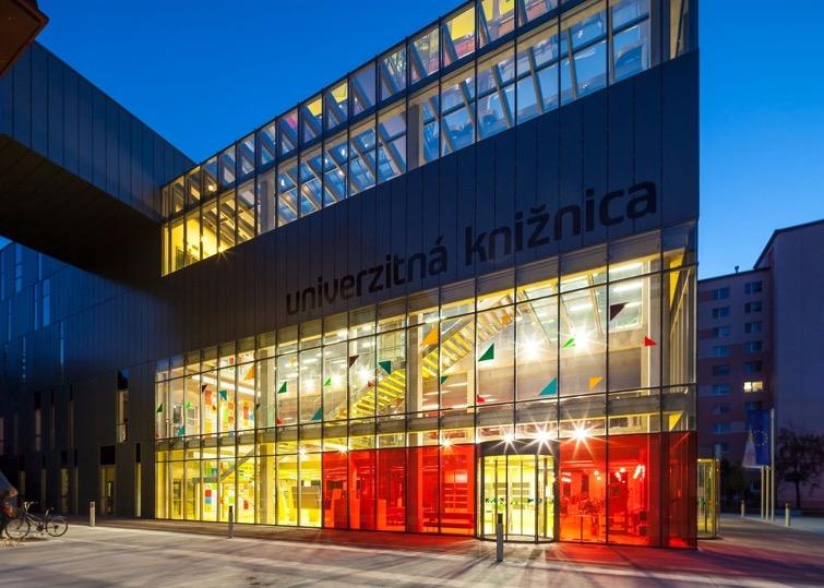 Library of Ruzomberok University - outside