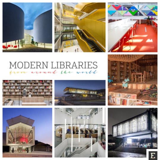 Most stunning modern libraries from around the world