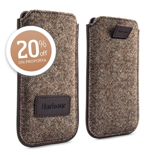 Proporta Barbour Tweed iPhone 5 Pouch 20% off this weekend